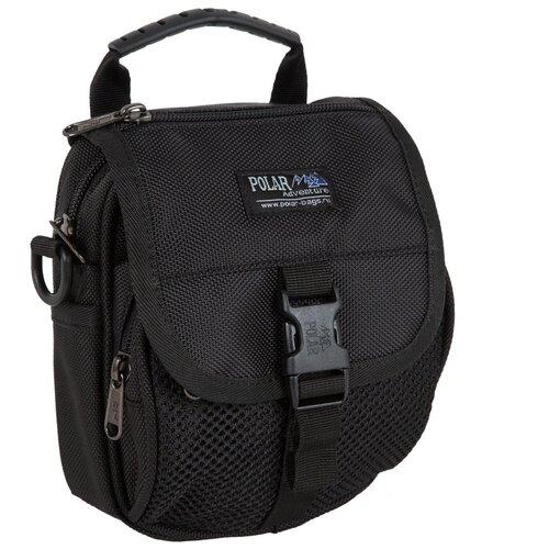 Сумка для документов Polar, П3174 черная сумка polar polar po001bwfyur2