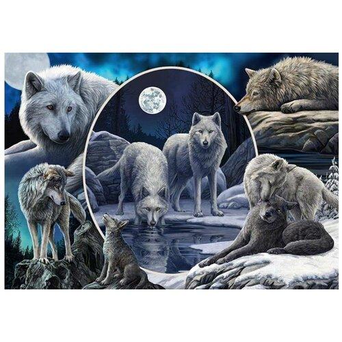 Пазл Schmidt 1000 деталей: Л.Паркер Великолепные волки