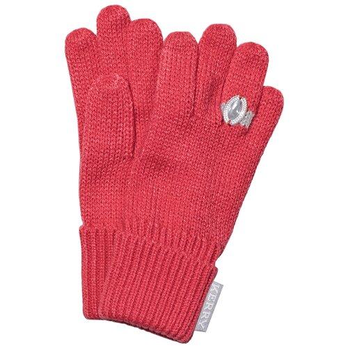 Перчатки для девочек GLORY K19096A-185, Kerry, Размер 2, Цвет 185-коралловый фото