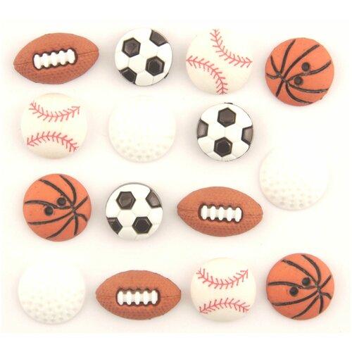 Купить 4070, Пуговицы. Мячи, Buttons Galore & More