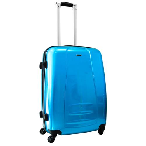 Чемодан Rion+, 418/53 сапфир голубой 24 чемодан rion 418 3 62 л голубой