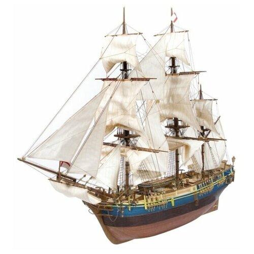 Сборная модель парусного судна OcCre Корабль Его Величества Bounty с разрезом, Масштаб 1:45, OC14006-RUS