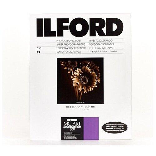 Фото - Фотобумага Ilford Multigrade ART 300, хлопковая основа, матовая, 30.5 x 40.6 см, 30 л фотобумага ilford multigrade rc deluxe 24 x 30 5 см перламутровая 10 л