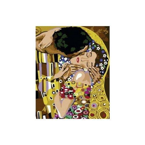 Купить Картина по номерам Поцелуй. Густав Климт, 40x50 см. PaintBoy, Картины по номерам и контурам