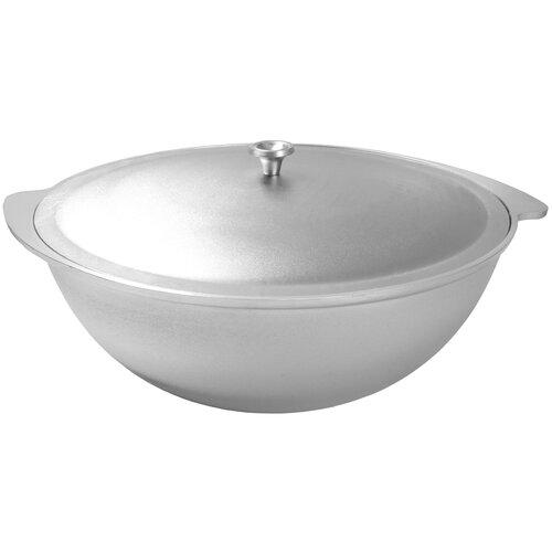Казан алюминиевый Kukmara к70, серебристый, 7 л казан 7 л камская посуда к70