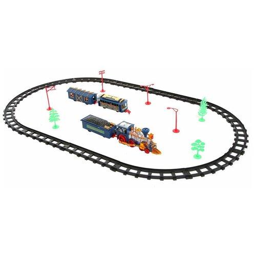 Play Smart Игровой набор Мой первый поезд на радиоуправлении, 0620