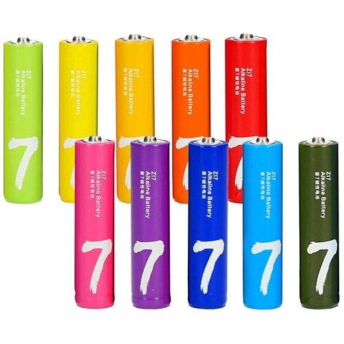 Батарейки ААA Xiaomi Rainbow 10шт.