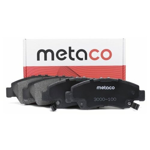Колодки тормозные передние к-кт (Производитель: METACO 3000100)