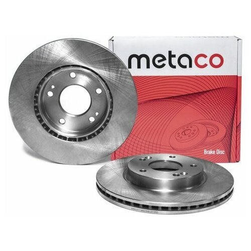 Диск тормозной передний вентилируемый (Производитель: METACO 3050217)