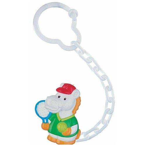 Купить Клипса-держатель для пустышек Canpol babies Animals, рисунок: Лошадка (250930402), Пустышки и аксессуары