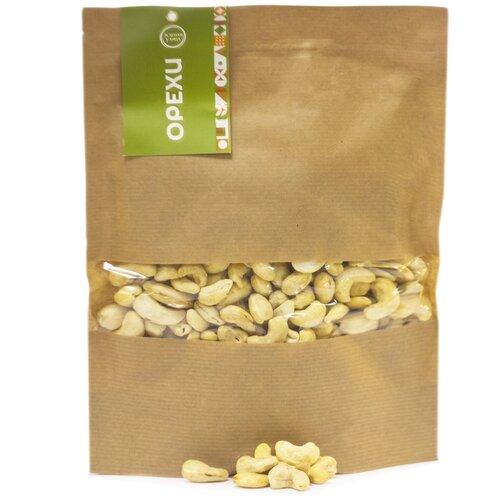 Орехи, Кешью сушеный 475 гр, отборные вкусные орехи Зеленая Улица. Свежий урожай. Здоровое питание!
