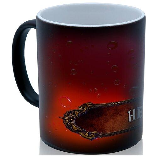 Кружка хамелеон Зелье здоровья (health potion), по мотивам игр, необычный сувенир