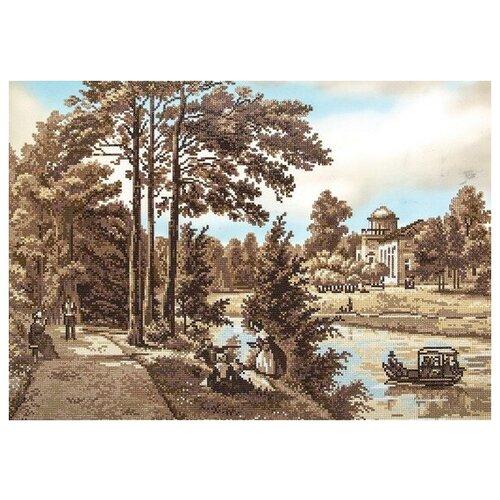 Купить Алмазная мозаика Отдых на берегу, картина стразами Фрея 41.5x59.5 см., ФРЕЯ, Алмазная вышивка