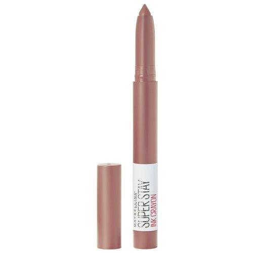Maybelline New York Superstay Ink Crayon помада-карандаш для губ, оттенок 10 верь своим чувствам  - Купить
