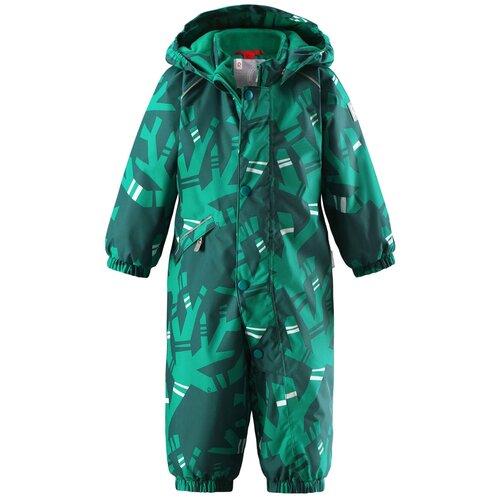 Купить Комбинезон Reima Suo 510267C размер 74, зеленый, Теплые комбинезоны