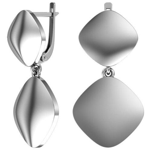 POKROVSKY Серебряные серьги 2101140-00245 pokrovsky серебряные серьги 2121129 00245