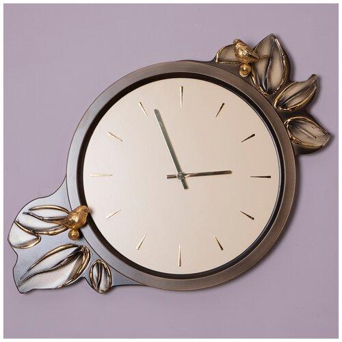 Часы настенные BOGACHO Зарнички Эвергрин Бронза часы настенные bogacho терра бронза