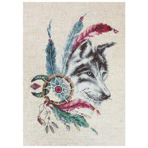 Купить Luca-S Набор для вышивания Волк, 18 х 25 см, B2305, Наборы для вышивания