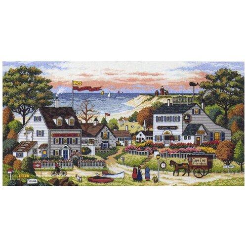 Фото - Набор для вышивания крестом Dimensions Уютное укрытие, 46x23 см, арт. 03896 набор для вышивания dimensions 03896 уютное укрытие46 x 23 см