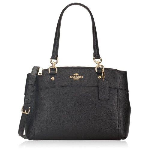 Женская кожаная сумка Coach F25395 coach бумажник