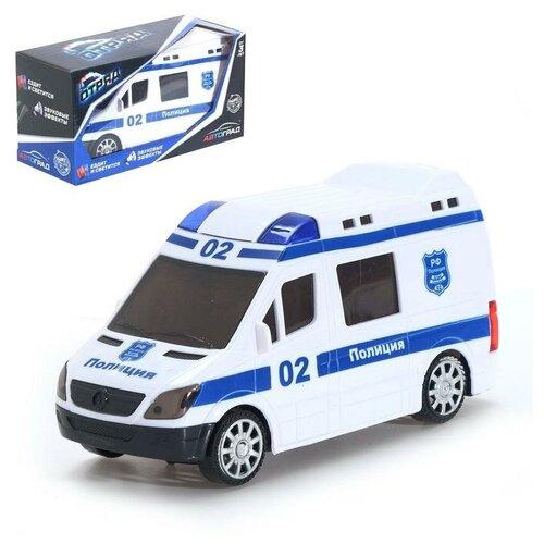 Фото - Автоград Машина Отряд, работает от батареек, свет и звук, SL-04290 5019329 автоград машина металлическая полицейский джип инерц свет и звук масштаб 1 43 sl 2493e 1740075
