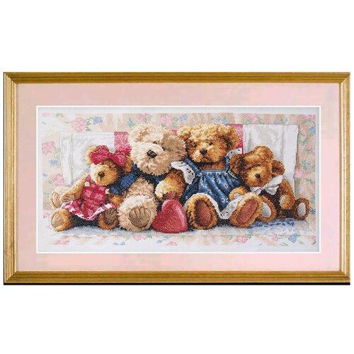 Фото - Набор для вышивания DIMENSIONS 35039 Плюшевые мишки46 x 23 см набор для вышивания dimensions 03896 уютное укрытие46 x 23 см
