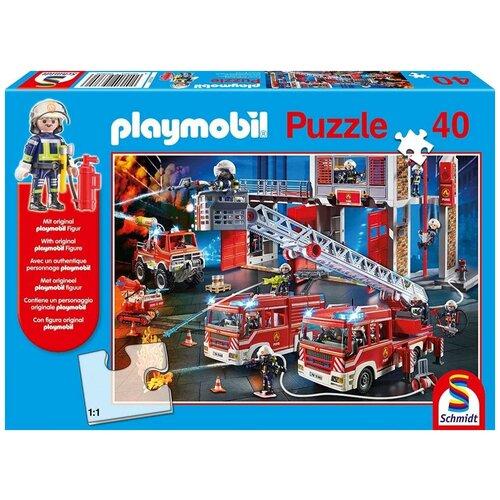 Пазл Schmidt 40 деталей: Пожарная станция