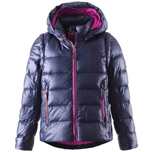 Куртка Reima Sneak 531224 размер 110, 6980 темно-cиний брюки reima reimatec procyon 522239 размер 92 6980 темно синий