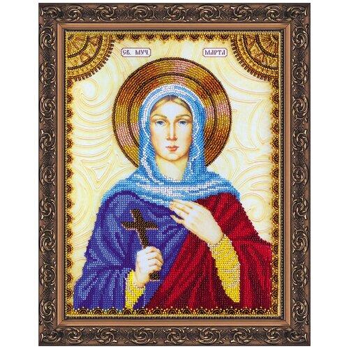 Купить Набор для вышивания бисером АБРИС АРТ AА-133 Св.Марта 23х30см, ABRIS ART, Наборы для вышивания