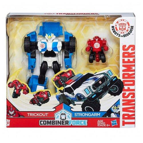 Купить Робот-трансформер Hasbro TRANSFORMERS Роботы под прикрытием Гирхэд-Комбайнер, Роботы и трансформеры