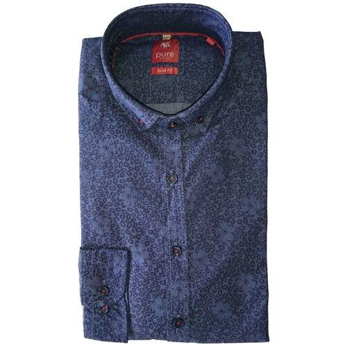 Рубашка pure размер XXL темно-синий