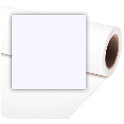 Фото - Фон Colorama White, бумажный, 3.55 x 15 м, белый фон бумажный colorama ll co531 1 35x11 м maize