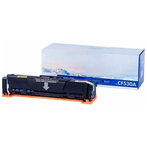 Фото - Картридж NV Print CF530A Black для HP Color LaserJet Pro M180n/M181fw картридж nv print ce320a black для hp color laserjet pro cp1525