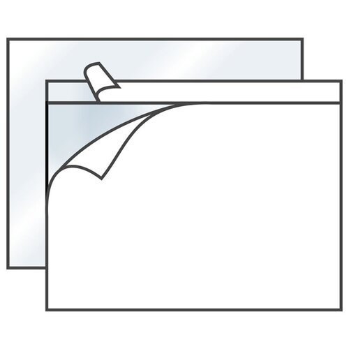 Пакет почтовый C4 KurtStrip (229x324, стрип) полиэтилен, 250шт. (1125)