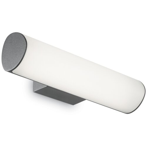 Настенный светильник Ideal lux ETERE AP1 IP44 Led 10.2Вт 4000К Алюминий/Антрацит 172408 настенный светильник ideal lux flash ap1 bianco