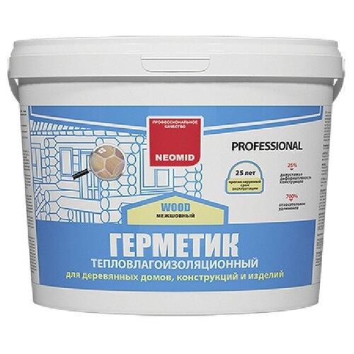 Герметик акриловый теплый шов NEOMID WOOD PROFESSIONAL, дуб 15 кг