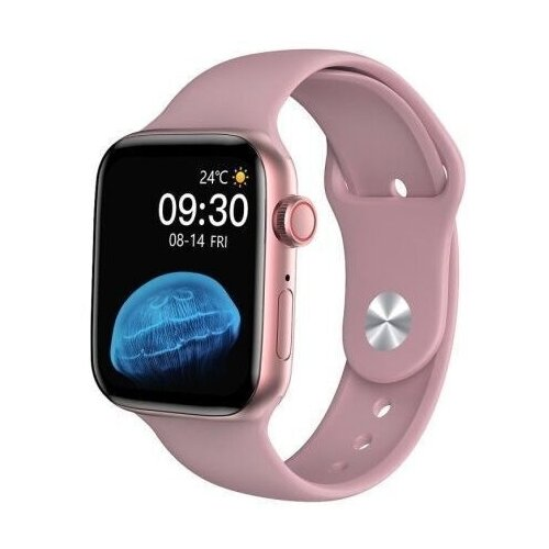 Умные часы IWO HW22 Series 6, розовый