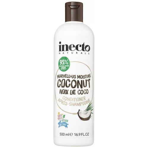 Inecto кондиционер Super Moisturising Coconut Увлажняющий с маслом кокоса, 500 мл