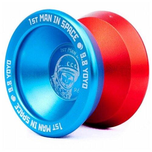Йо-йо - 9.8 - 1st Man in Space (голубой/оранжевый)