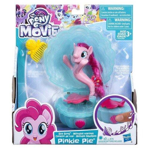 Игровой набор Hasbro My Little Pony Movie Мерцание мини Pinkie Pie с аксессуарами my little pony movie мерцание пони в волшебных платьях