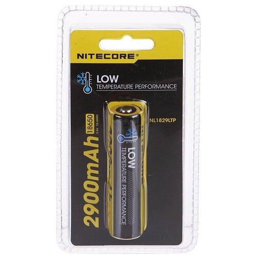 Фото - Аккумулятор Nitecore Rechargeable 18650 Li-Ion 2900mAh NL1829LTP / 17039 аккумулятор nitecore nl1665r