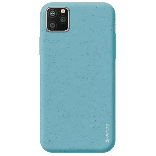 Фото - Чехол Deppa Eco Case для Apple iPhone 11 Pro Max, голубой чехол клип кейс deppa eco case для apple iphone 11 голубой [87282]