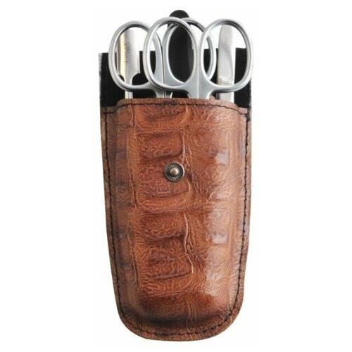 Фото - Маникюрный набор Zinger MS Z-5 S, 5 предметов маникюрный набор с косметичкой zinger ms 1205 804 s 10 предметов
