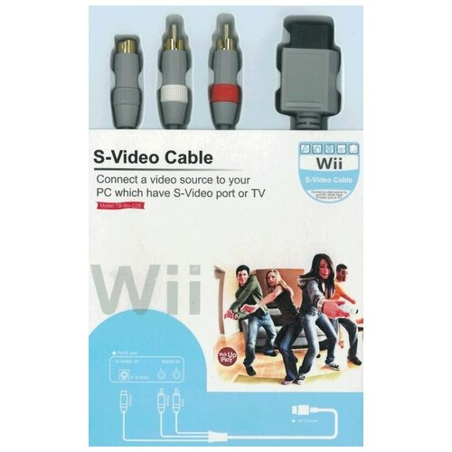 Wii S-Video видео кабель (Wii)