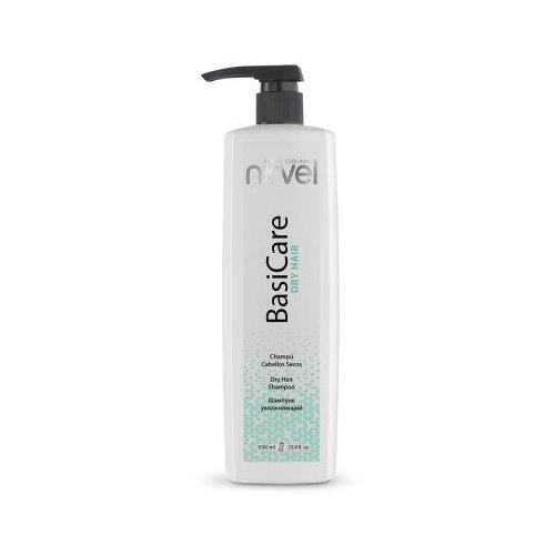 Купить Шампунь увлажняющий Dry Hair Shampoo, BasiCare, Nirvel 1 литр