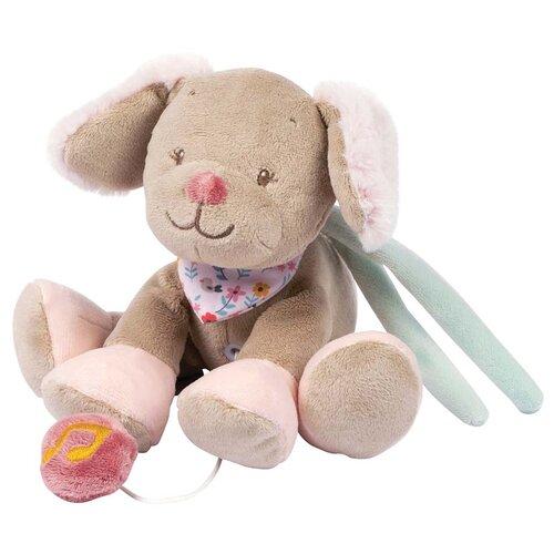 Мягкая игрушка Nattou Mini Iris & Lali Собачка музыкальная, 16 см мягкие игрушки nattou mini iris