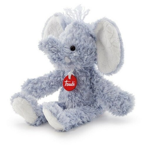 Мягкая игрушка Кудрявый Слон, 14x22x22см