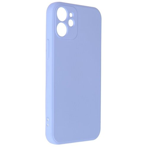 Чехол Pero для APPLE iPhone 12 mini Liquid Silicone Light Blue PCLS-0024-LB