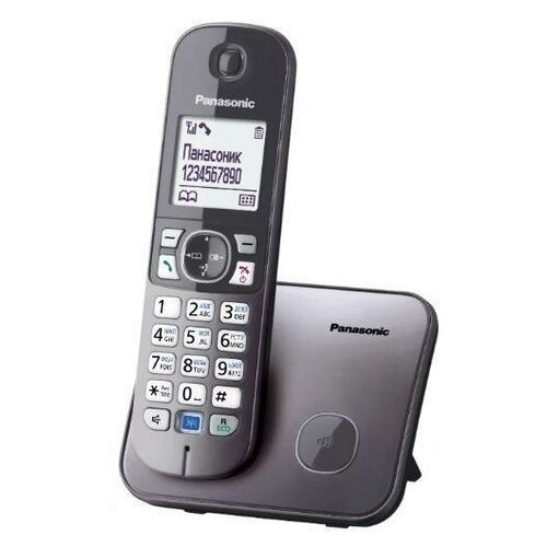 Радиотелефон Panasonic KX-TG6811 Серый