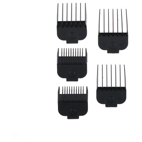 Набор насадок для 03-964 FORCE (1.5 мм; 3 мм; 6 мм; 9 мм; 13 мм) DEWAL MR-N-964